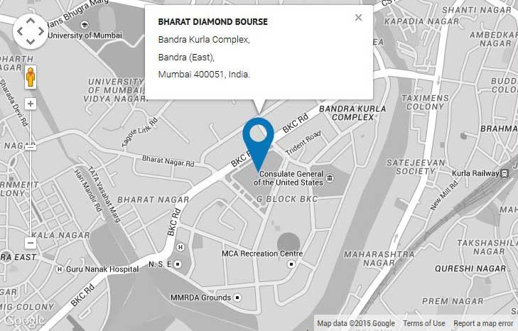 BDB Google Map